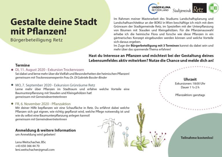 Gestalte deine Stadt mit Pflanzen!